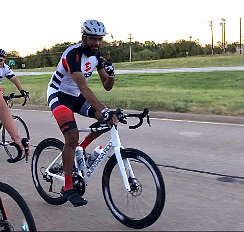 Carrlos Boyd, OneShare Health's Salesforce CRM Director is headed to the Tour du Rouge