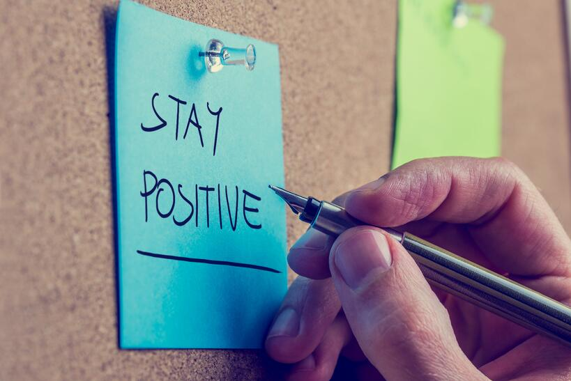 Staying positive is a great mental health tip to help reduce stress. Join our Christian healthshare for free mental health resources.
