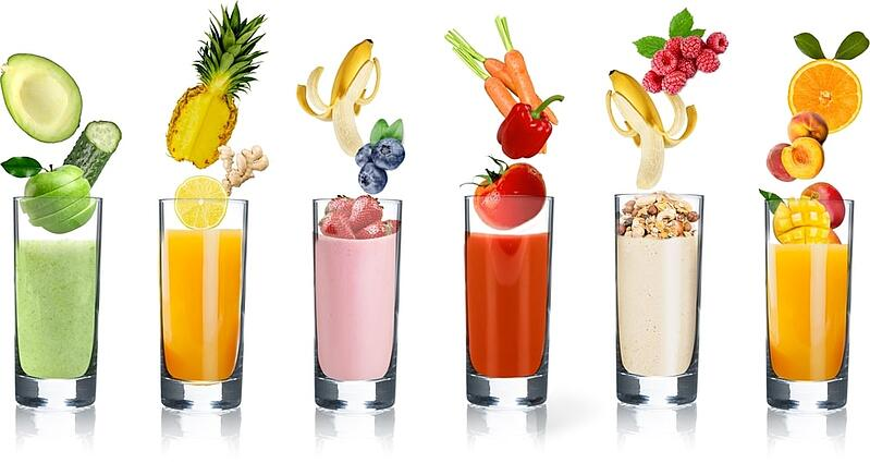 OneShare Health presents easy healthy smoothies for immune support.  Easy smoothie recipes for your home.