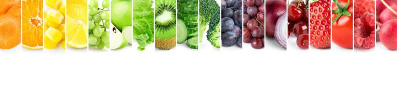 Healthy New Years Resolutions include keeping your favorite fruit and vegetables within reach.