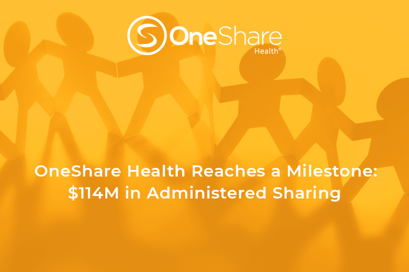 Health Care Sharing Ministry celebrates sharing medical costs among its Members in record-breaking amount