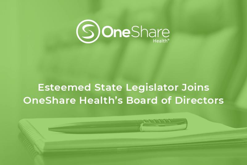 Christian Medical Sharing Ministry | Senator Bledsoe Joins OneShare Health Board of Directors