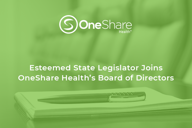 Christian Medical Sharing Ministry | Senator Bledsoe Joins OneShare Health Board of Directors