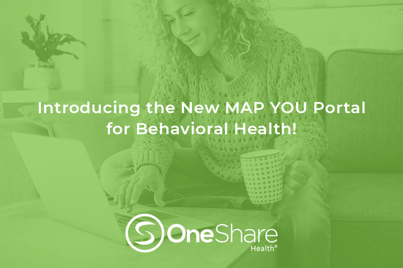 Free Counseling and Free Therapy with OneShare Health Mental Health Resources are There When You Need it With the New MAP YOU Portal
