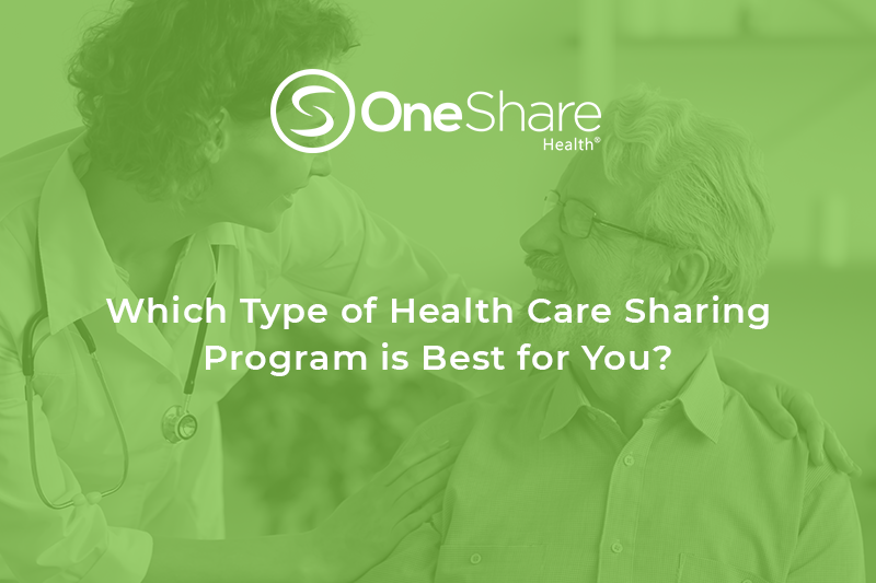What type of health care sharing plan is best for you?