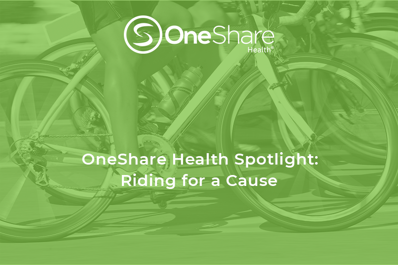 Carrlos Boyd, OneShare Health's Salesforce CRM Director will soon  be crossing the finish line of the Tour du Rouge to help The Arc of Greater Houston.