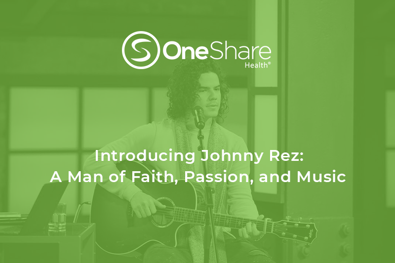 Latin Music Johnny Rez Partner with Christian Health Ministry OneShare Health