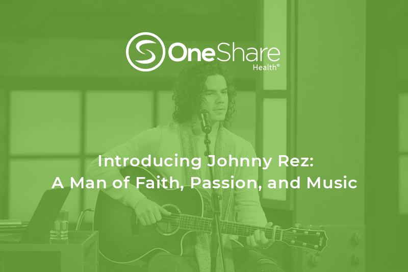 Latin Christian Artist Johnny Rez Partners with Christian Health Ministry OneShare Health