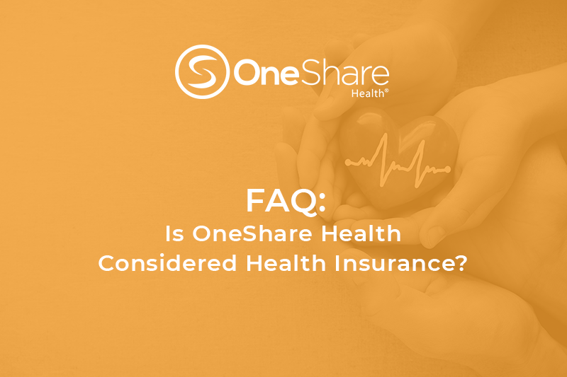 Is OneShare Health Insurance? We're not insurance, rather a Christian Health Care Sharing Ministry for those who agree with our Statement of Beliefs.