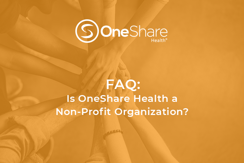 Did You Know OneShare Health Sharing Ministry is a Christian Non-Profit Organization?