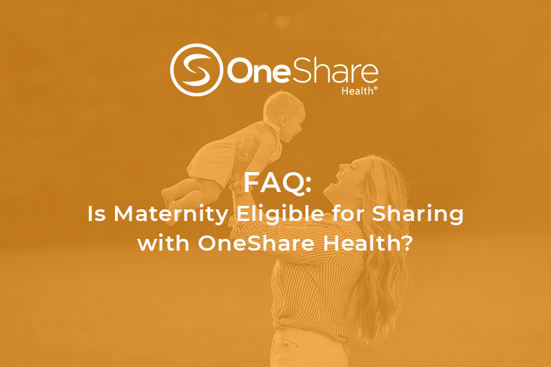 Maternity Health Care Sharing | Maternity Sharing Services are available on select tiers of OneShare Health Sharing Programs.