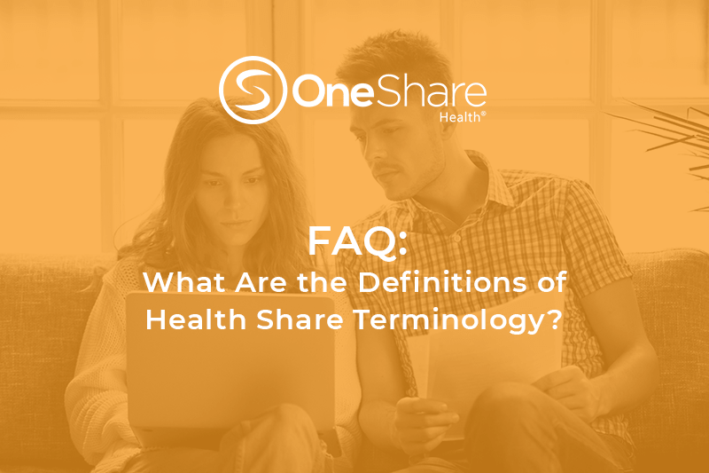 Health Share Terminology | How is Medical Cost-Sharing Different from Traditional Health Care Options