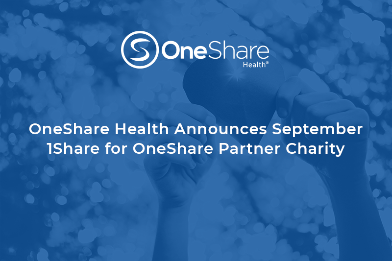 Medical Cost Sharing Ministry | Traffick911 is OneShare Health's September 1Share For OneShare
