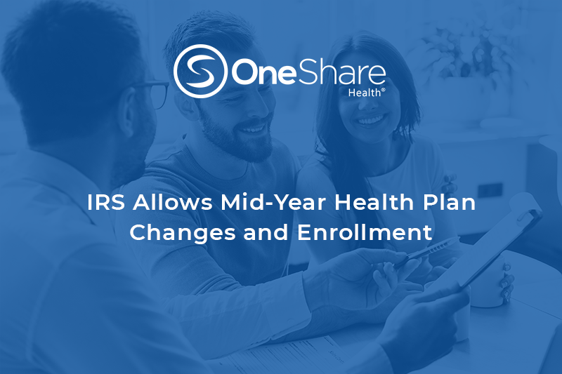 IRS to Allow Mid-Year Health Insurance Plan Enrollment | Christian Healthshare