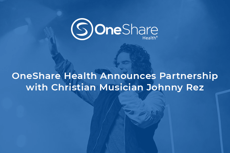 OneShare Health Christian Non Profit   Christian Health Care Sharing Ministry and Johnny Rez Partner Together to Raise Awareness
