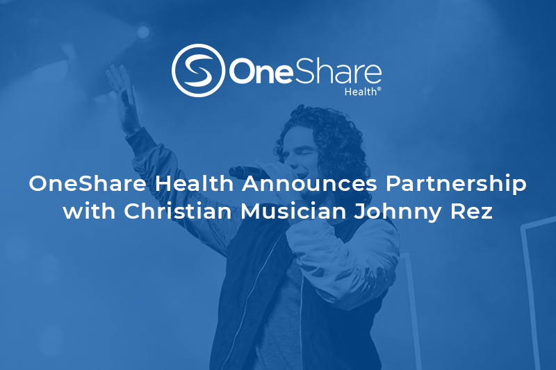 OneShare Health Christian Non-Profit | Christian Health Care Sharing Ministry and Johnny Rez Partner Together to Raise Awareness