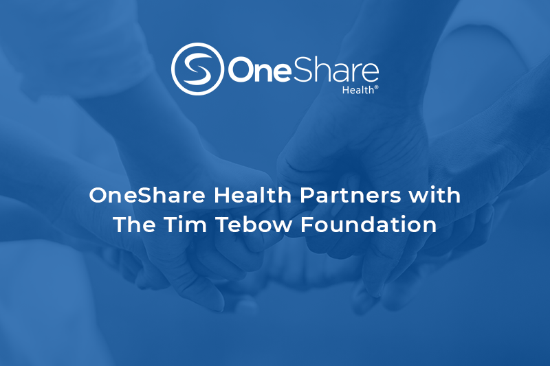 OneShare Health Care Sharing Ministry Partners with Tim Tebow Foundation