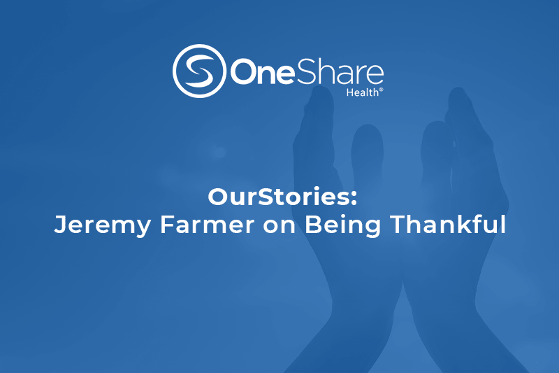 OurStories: OneShare Health Ministry Chaplain | Being Thankful