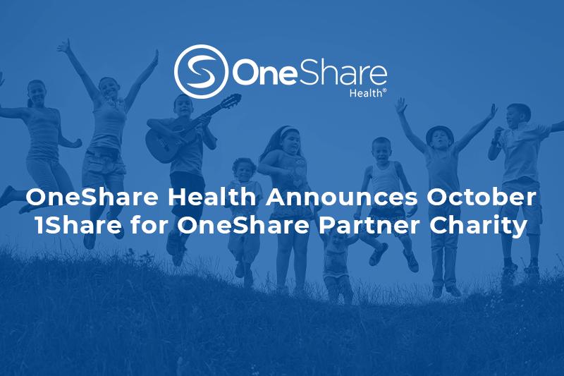 Christian Health Blog | OneShare Health's October 1Share For OneShare is The Larry Little Foundation