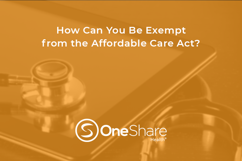 Can't Afford Obamacare? Find Out How You Can Be Exempt From Obamacare by Enrolling in a Christian Health Share.
