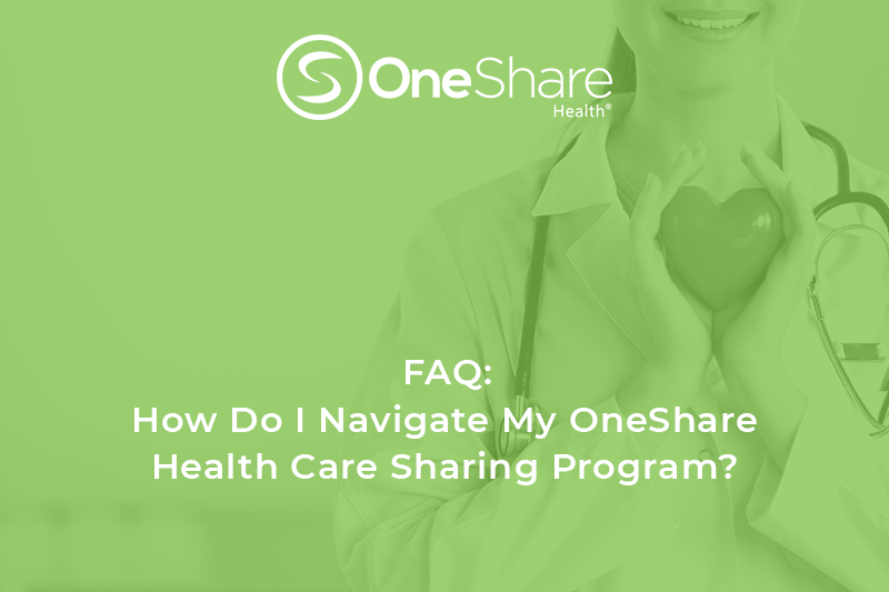 Christian family insurance is not the same as medical share health insurance. Learn about OneShare Health's health sharing ministry Programs here!
