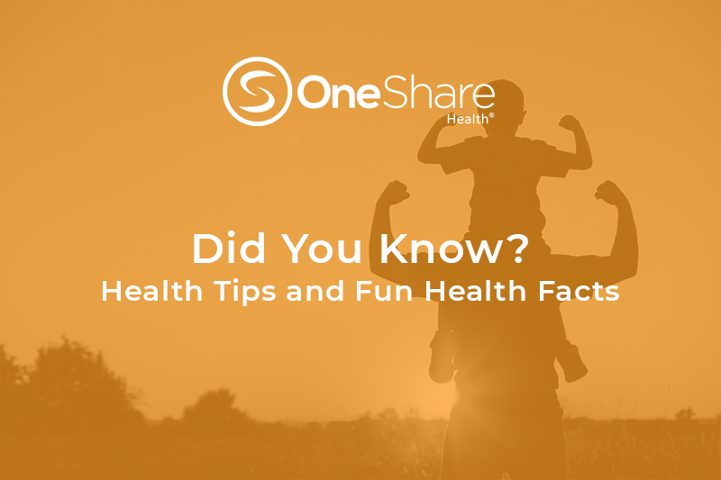 Learn health and wellness tips for your health facts and health tips fix! Get good health tips and basic health tips for beginners with these DYKs!