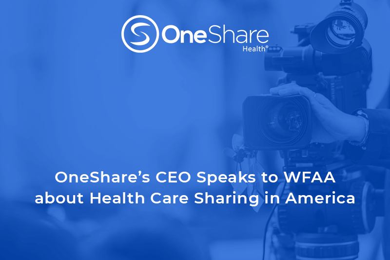 OneShare Health's Christian Health Share was recently spotlighted on WFAA.