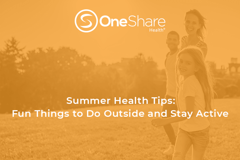 Summer health and wellness tips and summer health tips to spend time outside!