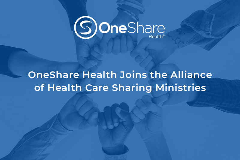 OneShare Health News |  OneShare Health Sharing Ministry Joins Alliance of Health Care Sharing Ministries